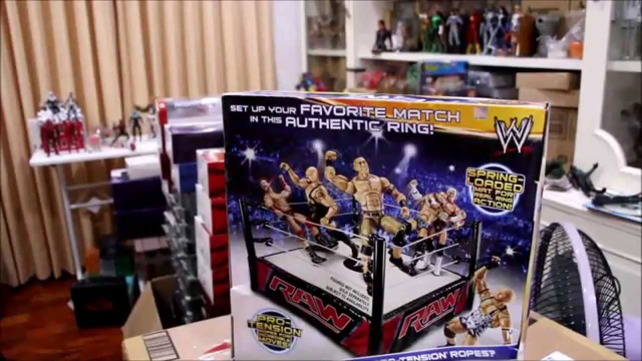 Toys R Us Wwe Rings : Review wwe raw superstar ring youtube
