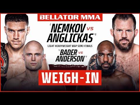 Weigh Ins   Bellator 268: Nemkov vs. Anglickas