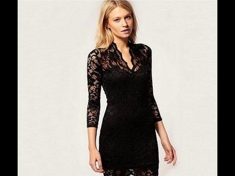 Как сшить стильно платье