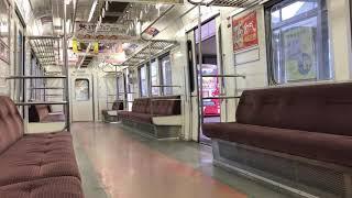 【無人の車内】大晦日の名鉄  名鉄6000系 須ヶ口→新川橋