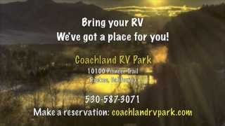 California Camping @ Coachland RV Park - Truckee