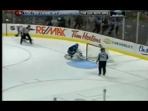 Wolski Amazing Shootout Goal on Luongo