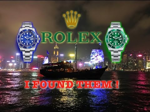 Shopping For A Rolex In Hong Kong - What They Cost & Where To Buy