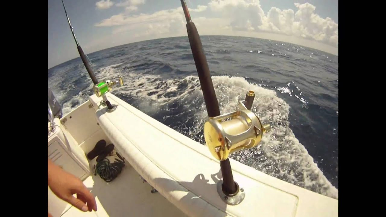 Wahoo fishing video surf city nc youtube for Surf city nc fishing report