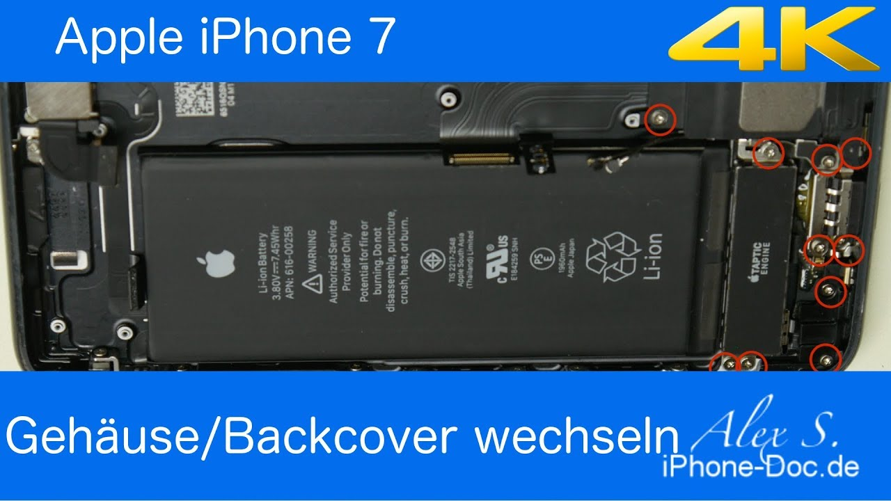 Iphone  Backcover Wechseln