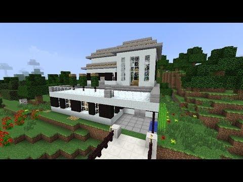 Tutorial de como hacer una casa bonita y moderna en - Como construir tu casa ...