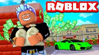 ROBBING THE RICHEST MANSION OBBY IN ROBLOX