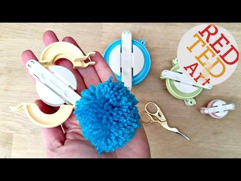 Clover Pom Pom Maker Tutorial - Easy Pom Pom DIY!
