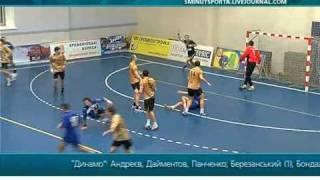 Суперлига, 15 тур. Динамо-Полтава - Портовик 31:30 (16:20)