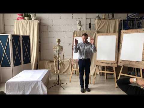 Семинар Александра Рыжкина «Анатомия для художников»