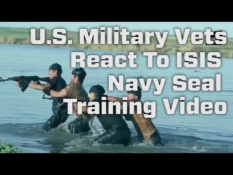 U.S. Military Vets React To ISIS Navy Seal Training Video