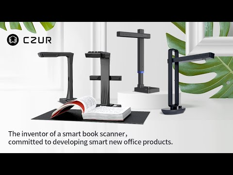 CZUR Scanner:Scanners can be smarter