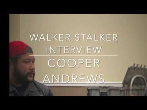 Cooper Andrews Interview at Walker Stalker NJ 2017