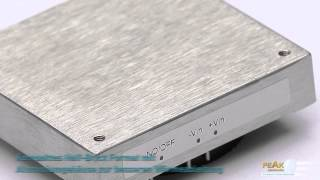 PEAK PO60HB DC/DC Wandler im isolierten Half-Brick Aluminum Gehäuse (SPS/IPC/Drives 2012)