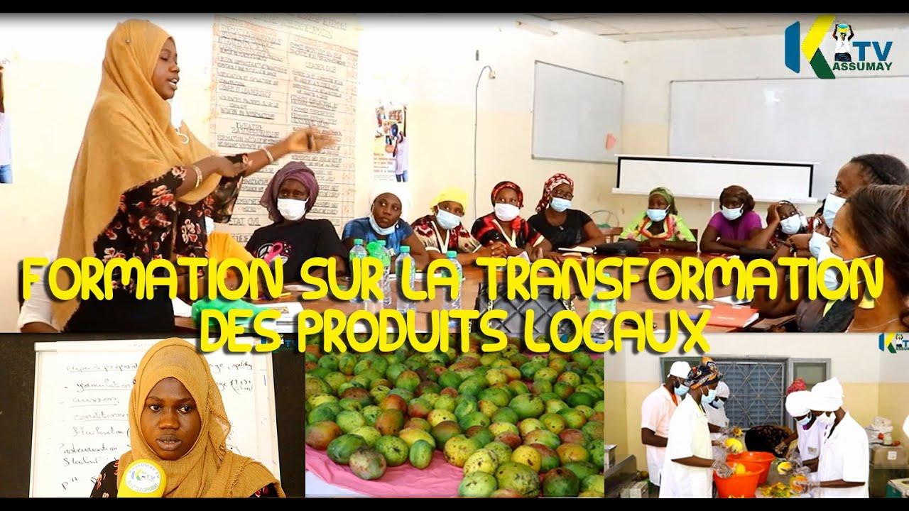 FORMATION SUR LA TRANSFORMATION DES PRODUITS LOCAUX A L'UR SANTA YALLA