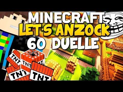 *MEGA LACHFLASHES* - LETS ANZOCK: Minecraft 60 Duelle - Fr3akzLP vs GommeHD