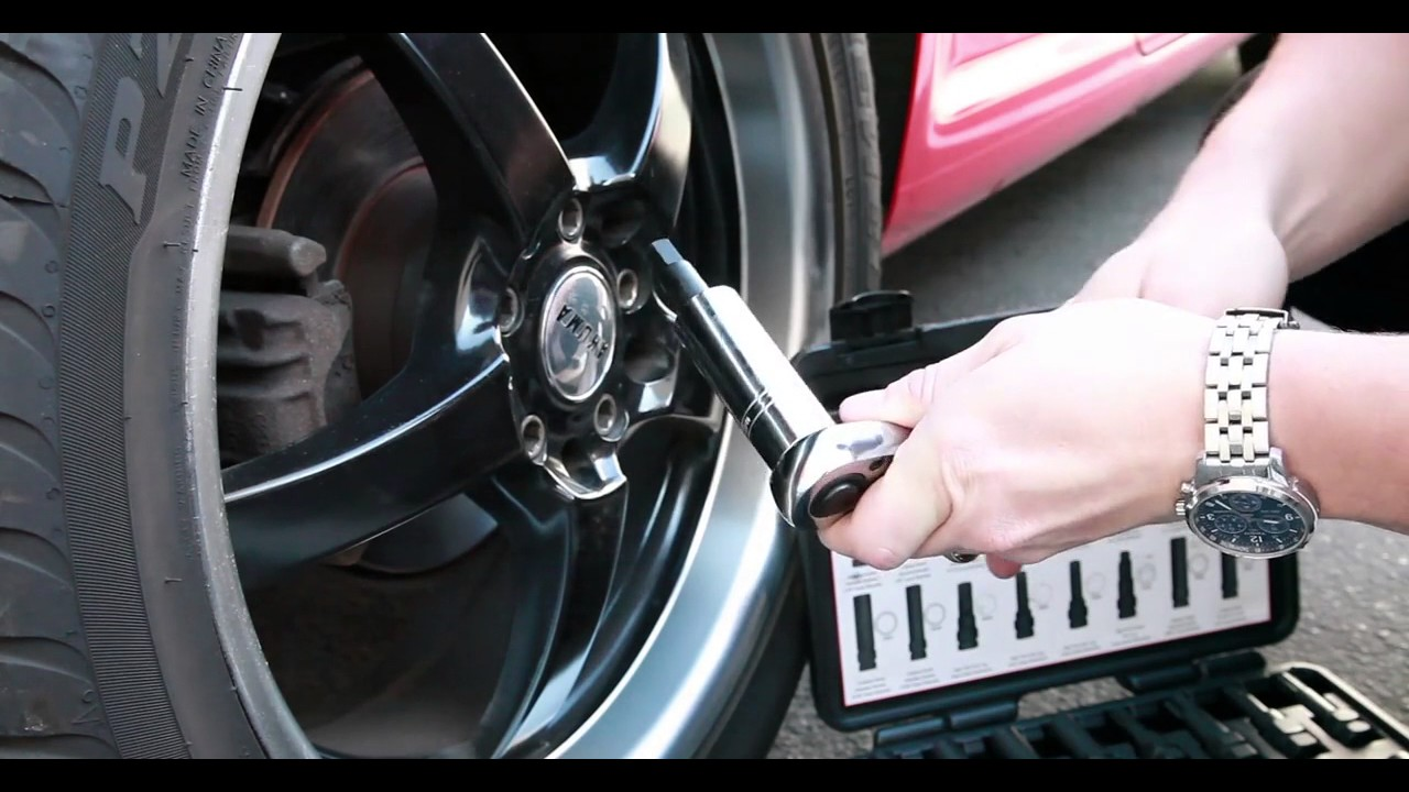 16PCS Wheel Locking Lug Master Key Set Wheel Lock Lug Nut Master Key Set-by Kauplus