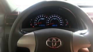 LED подсветка панели приборов Toyota Camry V40