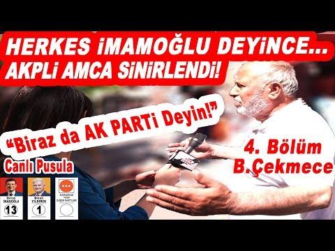 Herkes İmamoğlu Deyince AK Partili Amca Sinirlendi! İstanbul Seçim Anketi 4. Böl