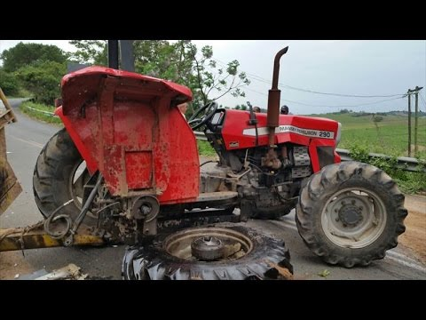 DEADLIEST BRUTAL Tractor Accidents Fails Crashes Video Compilation