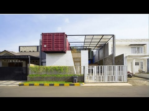 Amazing 4 Containers House
