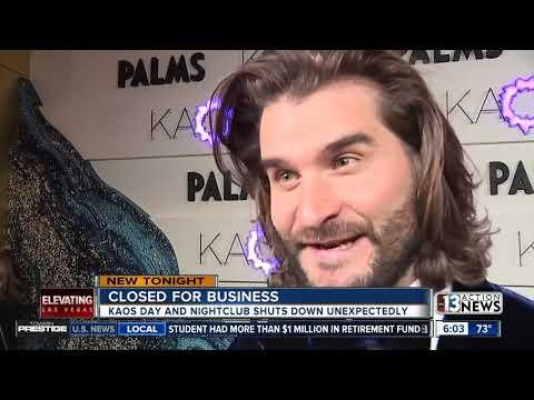KAOS Dayclub And Nightclub At Palms Hotel-casino Closed