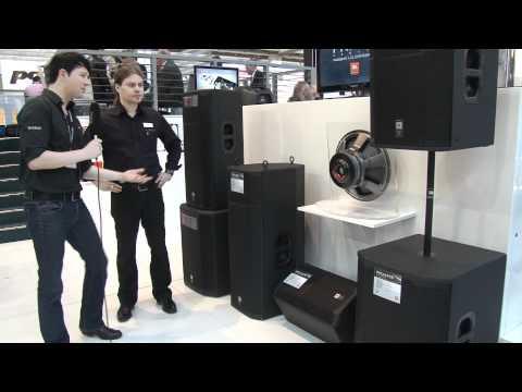 Musikmesse 2012 Frankfurt - JBL PRX Series