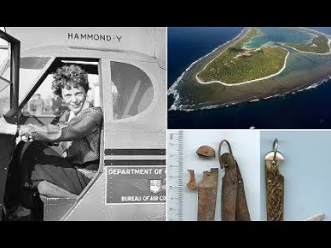 Is this the final resting place of Amelia Earhart ?
