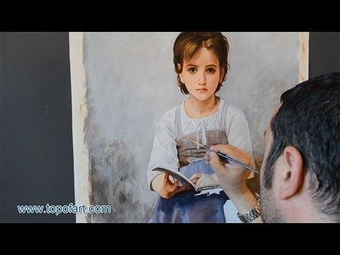Bouguereau - The Difficult Lesson | Art Reproduction Oil Painting