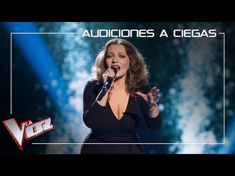 Selina Del Río canta 'El río'   Audiciones a ciegas   La Voz Antena 3 2019