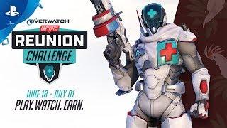 Overwatch - Baptiste Reunion Challenge   PS4