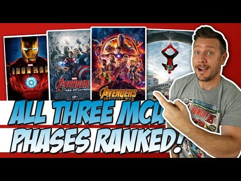 All 3 MCU Phases Ranked!