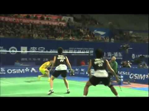 QF - XD - Tao J./Tang J. vs T.Ahmad/L.Natsir - 2012 China Open