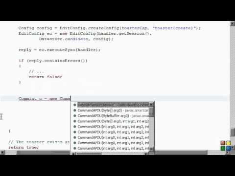 Netconf4Android Quickstart Step 7 Video 2