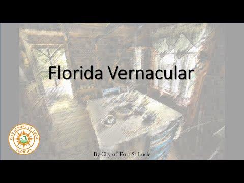 Florida Vernacular