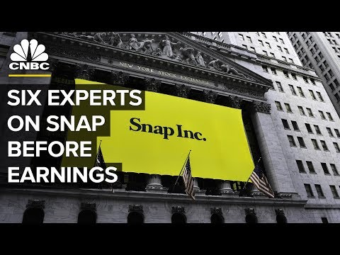 Snapchat: Six Experts Analyze Snap Ahead Of Earnings | CNBC