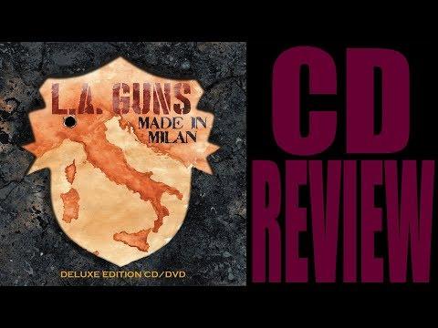 L.A.GUNS - MADE IN MILAN (CD/DVD REVIEW)...