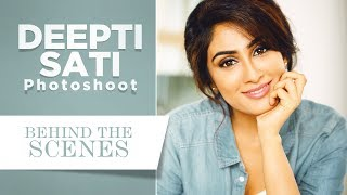 Deepti Sati's Cover Photoshoot for Grihalakshmi - Extended Cut
