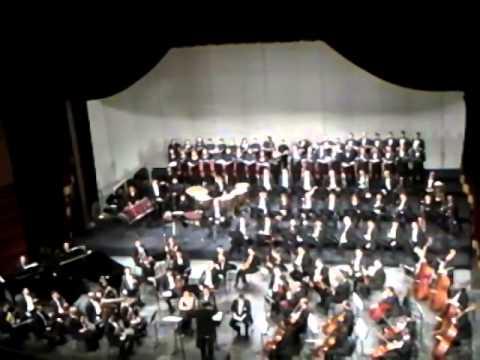 Nader Abbassi, Carmina Burana. Cairo Opera House.1 Feb 2014. نادر العباسي كارمينا بورانا