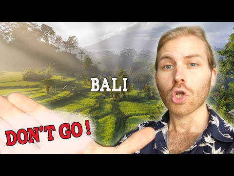 Why you no longer should Travel to Bali (WATCH BEFORE YOU BOOK)