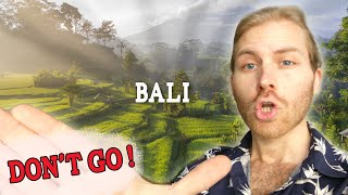 Why you no loฑger should Travel to Bali (WATCH BEFORE YOU BOOK)