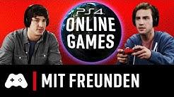 Die besten PS4 Online Games mit Freunden