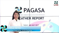 Public Weather Forecast Issued at 4:00 PM July 24, 2017
