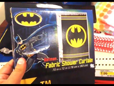 BATMAN Fabric Shower Curtain