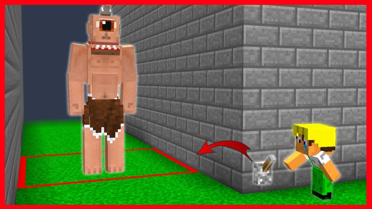 BEBEK İŞÇİ TEPE GÖZE TUZAK KURDU! 😱 - Minecraft