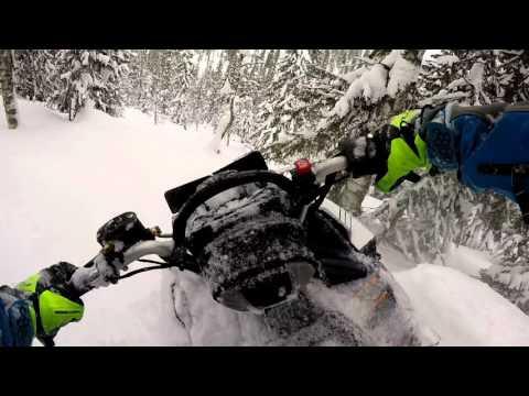Тест снегохода Polaris 800 PRO RMK 155 2,6 AXYS на Кваркуше Часть IV
