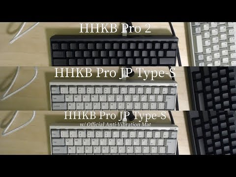 Hhkb Pro 2 Pro Jp Type S Sound Test Youtube