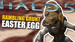 Halo 5 Easter Egg - Rambling Grunt