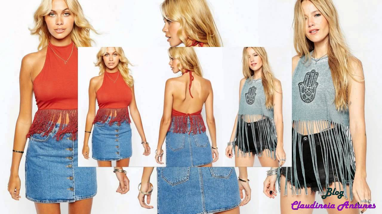 ace2d02af2 90 Modelos de Blusas Femininas que esta na Moda - YouTube