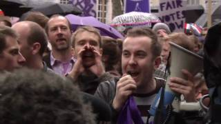 Take Back Parliament Rally from Trafalgar Square to Smith Square to talk to Nick Clegg